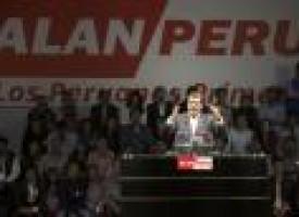 'Narco pardons' burden Garcia as he seeks Peru presidency